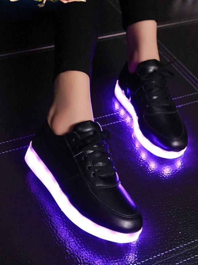 13332f35494 2017 Women Colorful Glowing Shoes with Lights Up Led Luminous Shoes a New  Simulation Sole Led Shoes for Adults Neon Basket Led Glowing Shoes Lights  Up Led ...