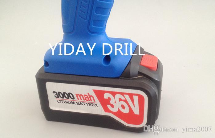 36V 3000mah поручая электрический ключ с 2 батареями и одним заряжателем