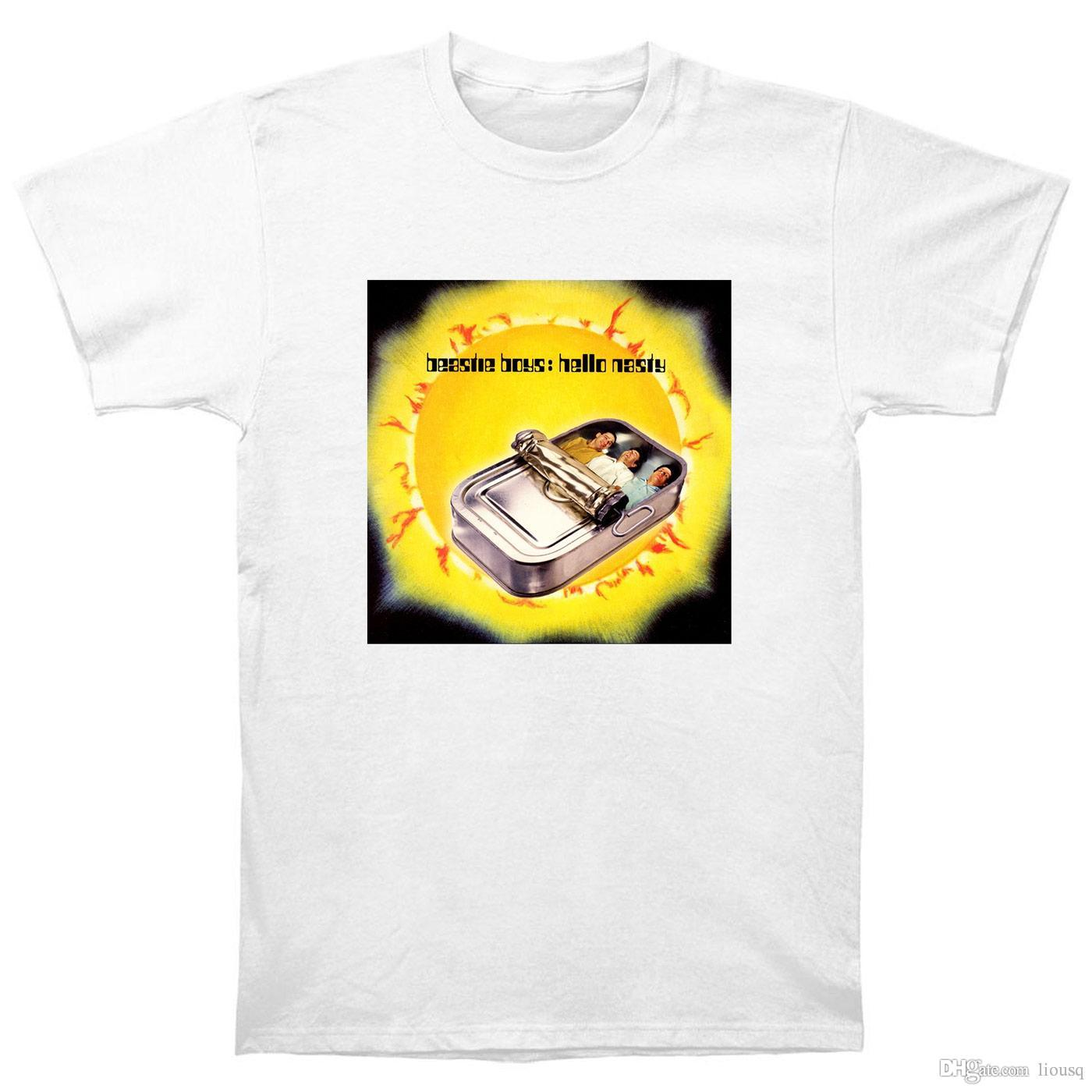 Grosshandel Beastie Boys Hallo Nasty T Shirt Cd Lp Vinyl Poster T