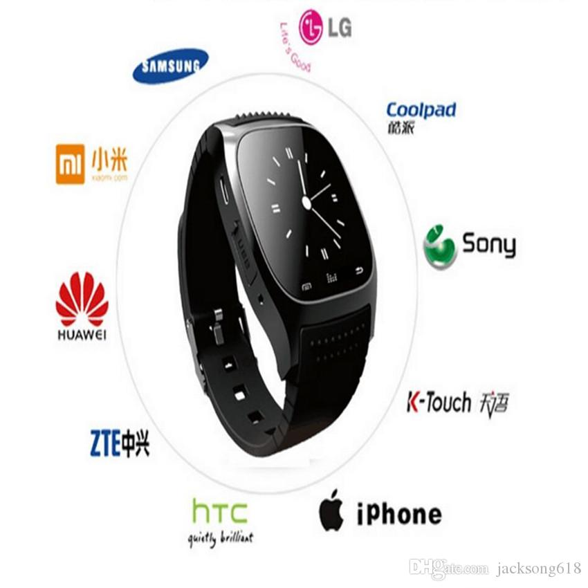 M26 Smart Watches 2016 Bluetooth Controll for iPhone 6/6S Samsung S5/S4/Note 3 HTC Android Phone Smartwatch for Women Men Wholesales