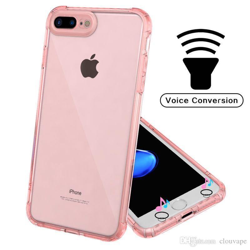 4c6bf15e18f Fundas Para Smartphone Para IPhone X 7 7S Plus Protectores De Teléfono  Funda Mejor Híbrido Claro Acrílico De Silicona TPU PC Coque 2 En 1 Funda De  ...