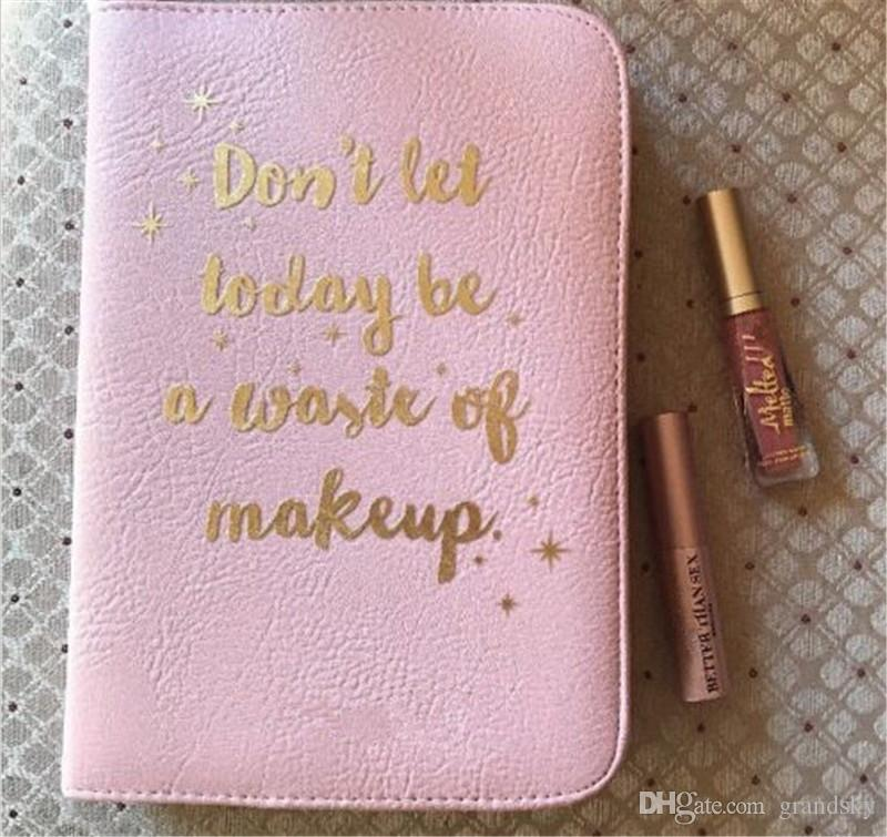 Hot Boss Lady Beauty Agenda Eyeshadow don't let today be a waste of makeup Waterproof Matte Eye Shadow Palette high quality