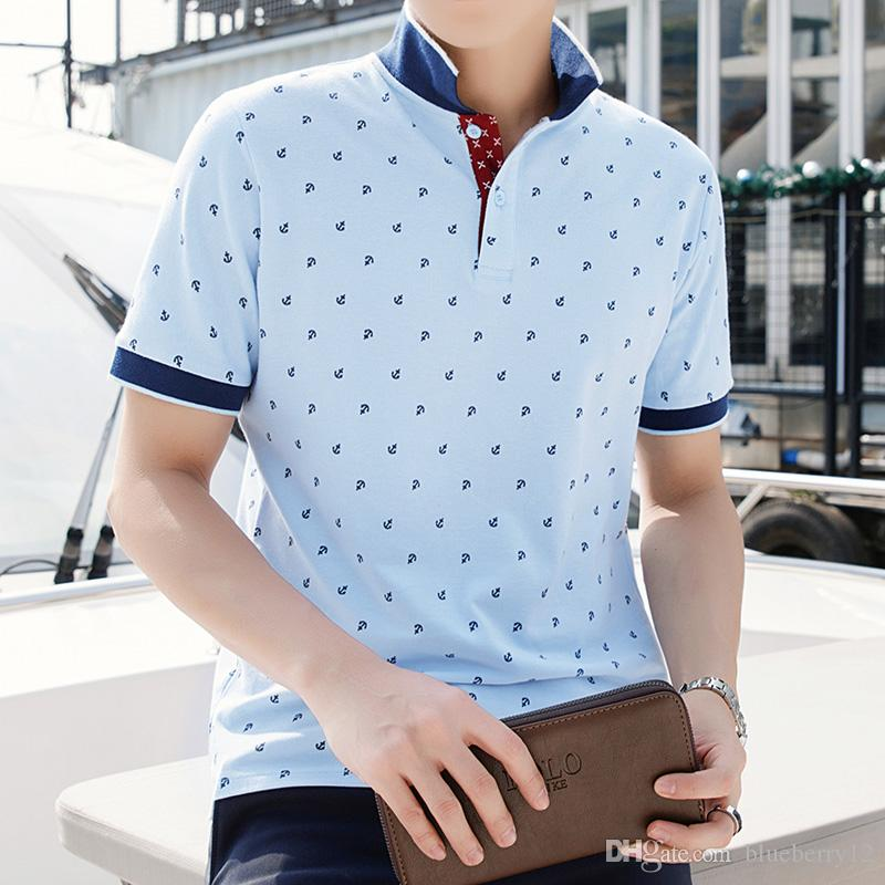 Summer Fashion Mens Short Shirt Brand England style Plus Size M-4XL Cotton Shirt Men Slim Fit Brand Clothing Black Solid Shirt