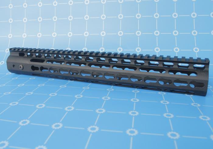 Высокое качество NSR 15 цельный цельный верхней железнодорожной системы для AR-15 Черный e-Packet Бесплатная доставка