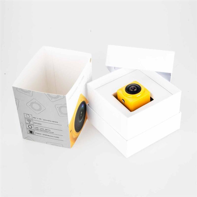 Nueva versión de 360 Degree Mini cámara de acción deportiva 360Vanoramic VR Cameras gran angular 720P 360x190 HD Video Camcorder Build-in WiFi Cam