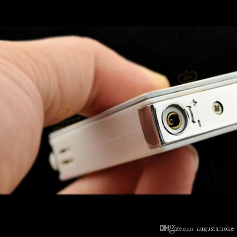 에이프릴 전기 충격을 시가 주방 도구 라이터 라이터 크리 에이 티브 가스 라이터 담배 플라스틱 포커 바보