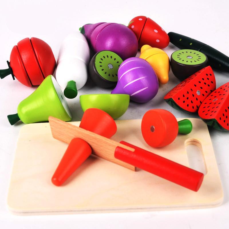Compre Frutas Nueva Llegada Cut Alimentación Conjunto Magnético ...