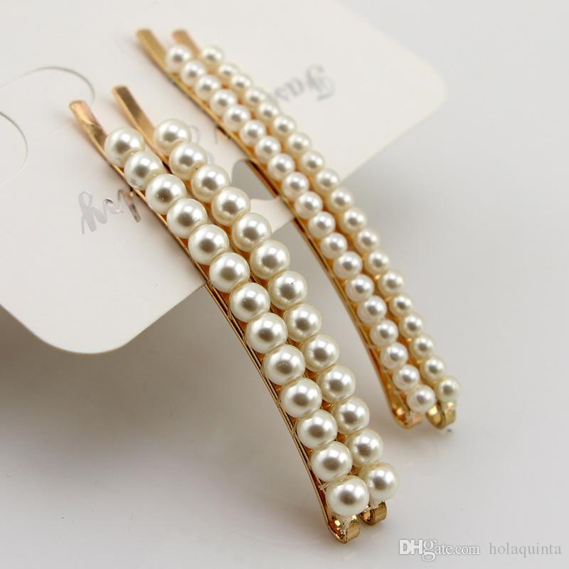 strass perle clip accessoires de cheveux pour les femmes épingles à cheveux pour les mariages