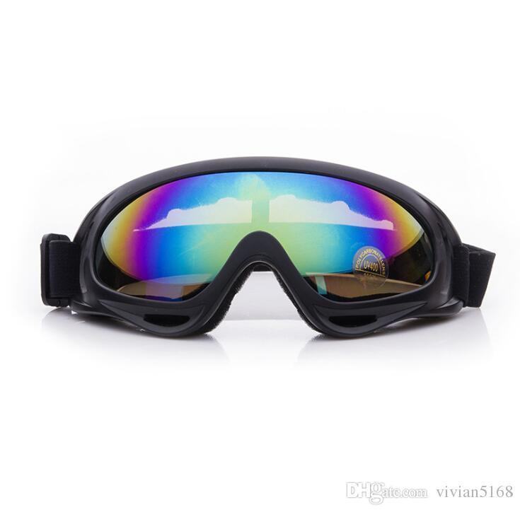 9d9b5b63755 Professional Ski Goggles Double UV400 Anti-fog Big Ski Mask Glasses ...
