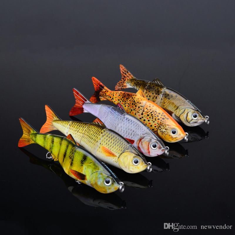 1 Adet 5 Renk 12cm 17g Yeni Minnow Balıkçılık lures Krank Bait Kancalar Bas Crankbaits Mücadele Batan Popper yüksek kaliteli balıkçılık