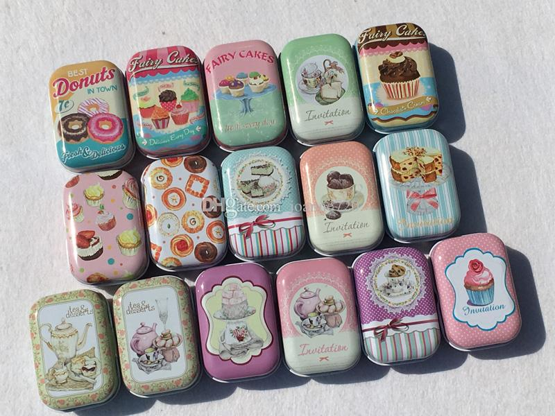 teapot design Small Handbag Storage Jewelry Decorative Tin Box With Lids Candy Earphone Ring Christmas Gifts Boxes