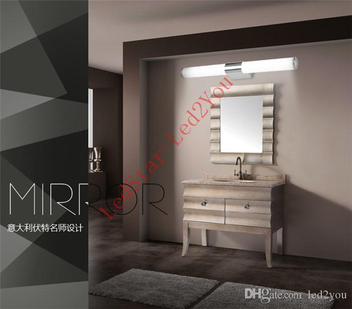 Newly Designed Modern 8W 12W 16W 24W LED Bathroom Light Fixtures Mirror Wall light Indoor mirror-front Sconces lighting lamps