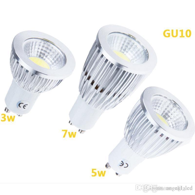 Blanc Lampe Lumières Spot Ampoules Chaud 85 Gu10 3w Led 265v 5w 7w Cob Pur XuwOkiTlPZ