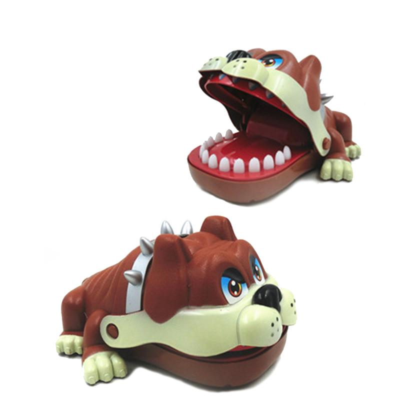 wholesale creative childrens toys exercise cartoon teeth dog bites antistress fun party interactive game family gifts com online shopping online with