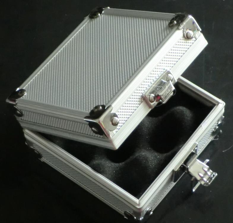 Wholesale Silver Tattoo Machine Case Alloy Aluminum Case Box For Tattoo Gun Machines Supply kit