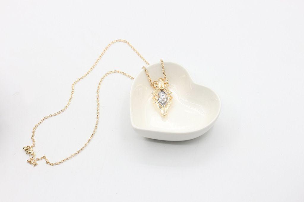 Chaîne collier en gros petit bouchon de bouteille de médecine collier Seigneur de Ladd Li Torkin pendentifs inspirés colliers