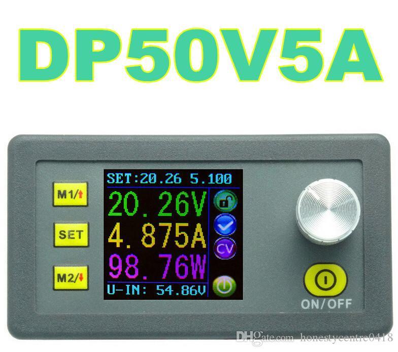 DP50V5A Regulador de voltaje ajustable Corriente de voltaje constante Módulo de fuente de alimentación descendente Voltímetro LCD de color