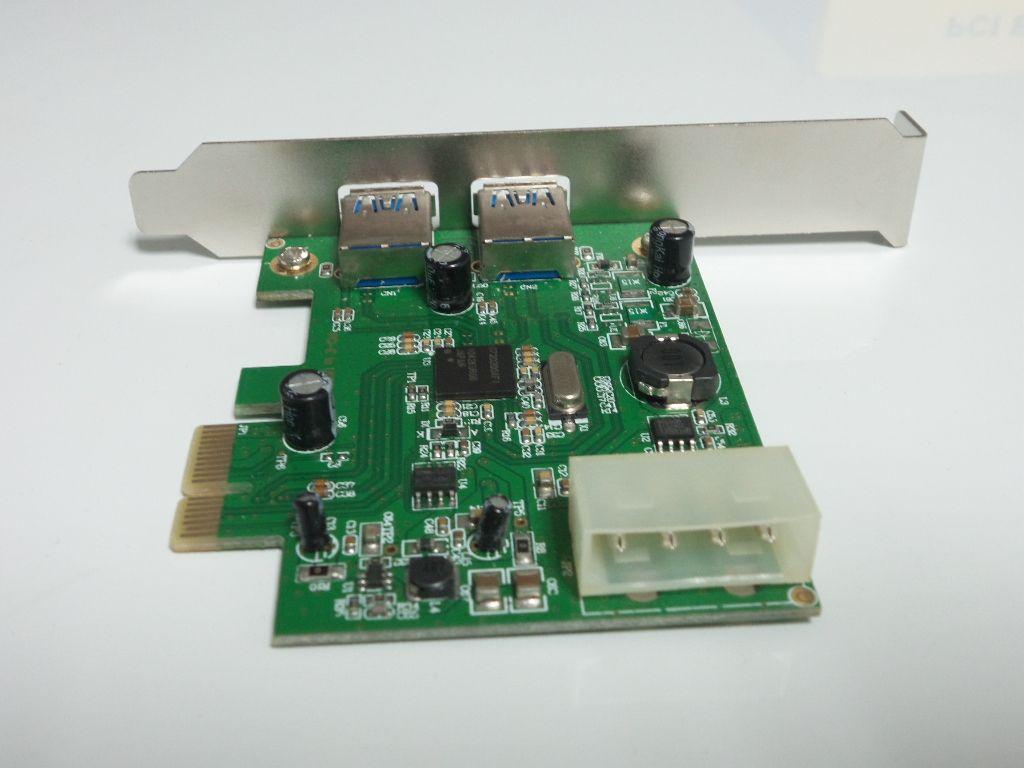 NEC чип материнской платы компьютера адаптер карты PCI-E к USB 3.0 два адаптера карты