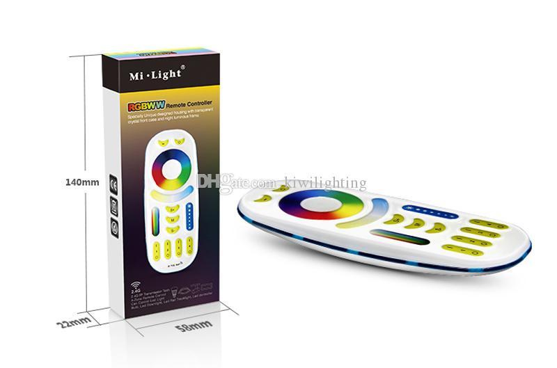 MI.LIGHT 2.4Ghz 8W Wireless RGB + bianco / bianco caldo LED E27 + 2.4G telecomando