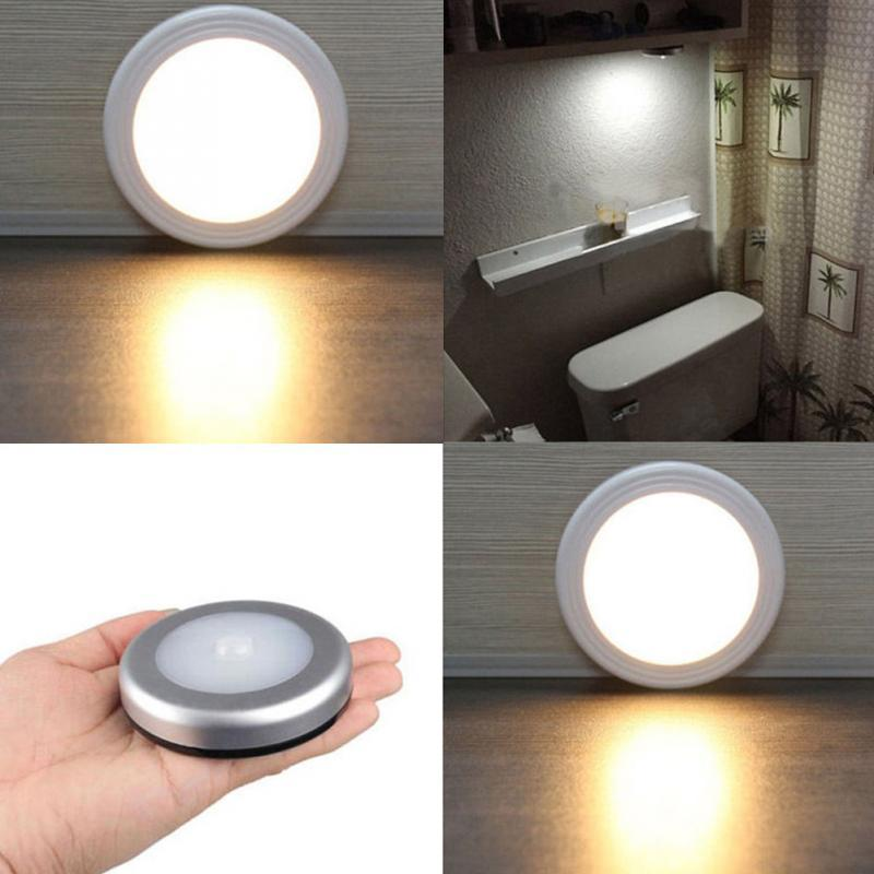 2018 wireless motion sensor wall light battery powered led 2018 wireless motion sensor wall light battery powered led nightlight wall light lamp for stairs cupboards wardrobes from brightnighty 302 dhgate mozeypictures Images