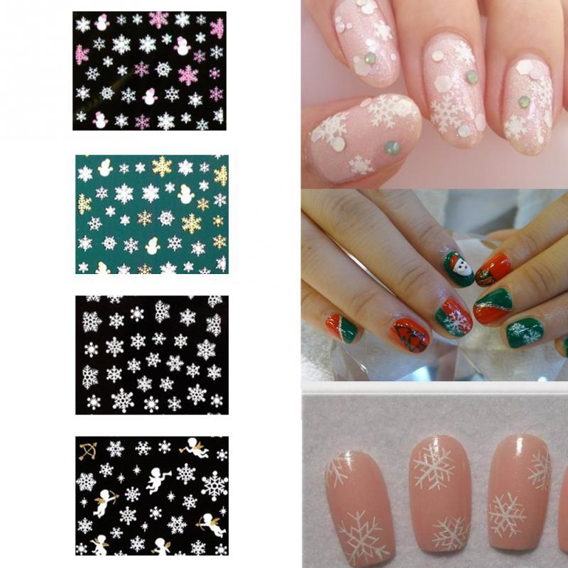 Fashion 1sheet water transfer art decals 3d snowflake angel nail fashion 1sheet water transfer art decals 3d snowflake angel nail stickers nail art decorations winter christmas nail design acrylic nail supplies airbrush prinsesfo Image collections