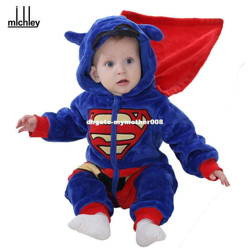8aee94083a1a 2019 Dhgate Baby Boys Romper 2017 Newborn Soft Jumpsuits Infant ...
