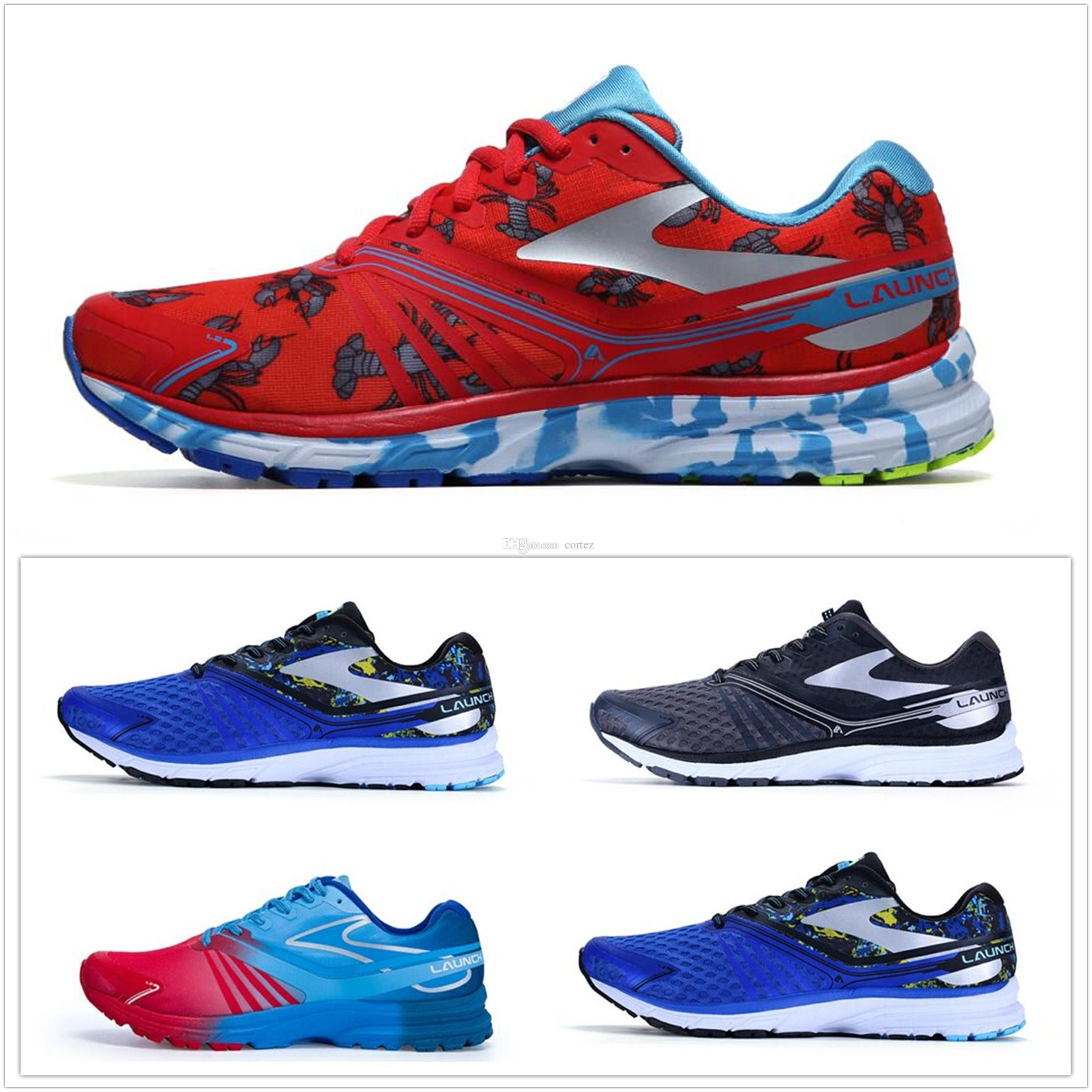 BROOKS LAUNCH 2 MULTICOLORED WOMEN'S RUNNING TRAINNING SHOES 100% AUTHENTIC