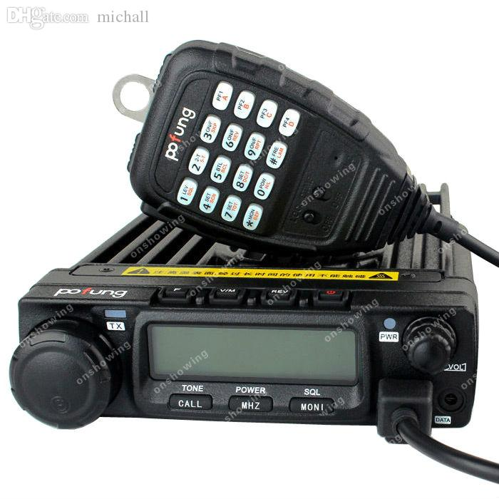 Wholesale-Pofung BF-9500 UHF 50W CTCSS/DCS 5 Tone DTMF Mobile Car Radio  Transceivers ON0275