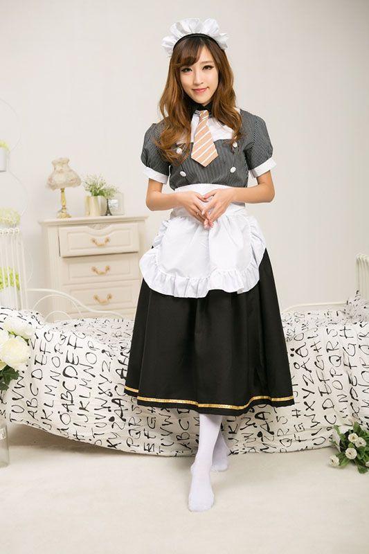Manica corta nera di Real Photo 2017 LoveLive! Minami Kotori Costume Cosplay Halloween Sonoda Umi Maid uniforme Abiti Lolita