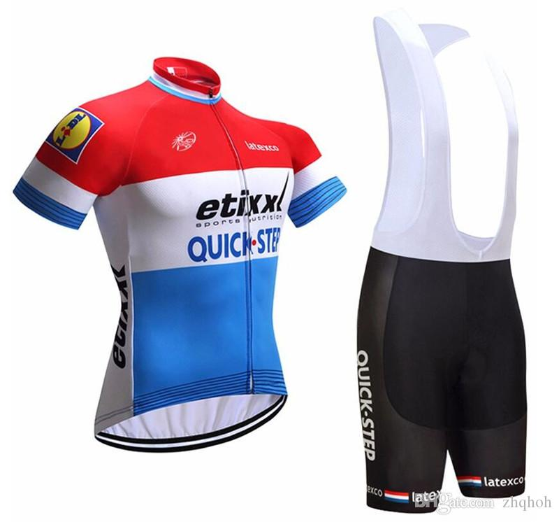 2017 Quick Step Cycling Jersey And Bib Shorts Kit 0003 Online with   34.29 Piece on Zhqhoh s Store  ea2a1dea9