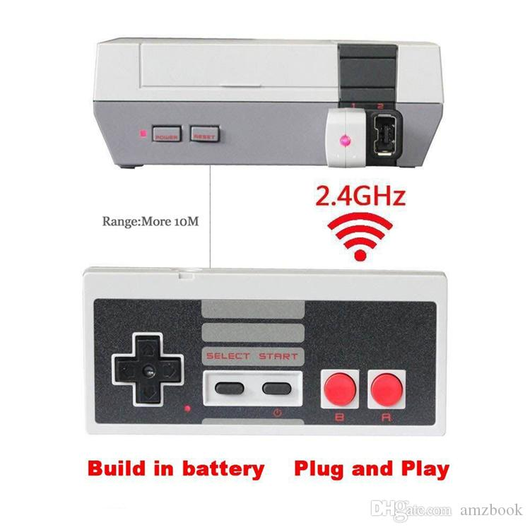 2017 Wireless USB Plug and Play Gaming Controller Gamepad for Mini Buttons Classic Edition With Wrireless Receiver