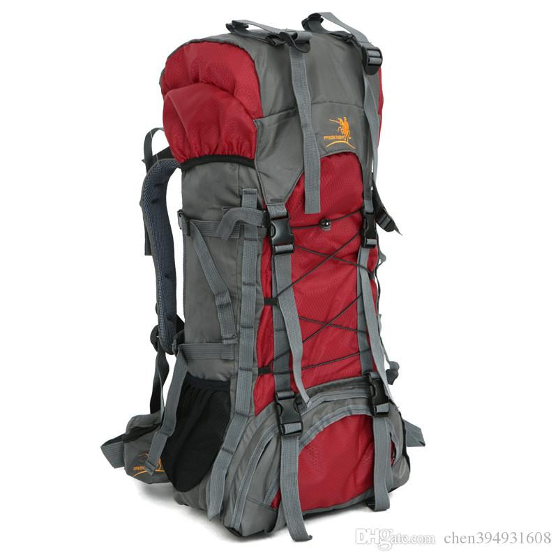 c67adf1e46 2019 Free Knight 60L Extra Large Waterproof Nylon Outdoor Sports  Professional Climbing Hiking Mountianeering Backpack Travel Bags From  Chen394931608