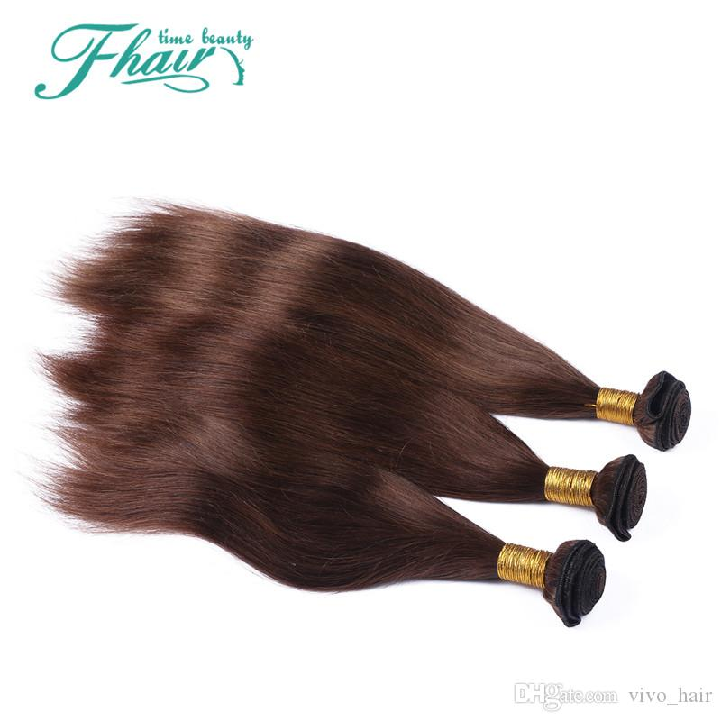 Top Quality Brazilian #Straight Human Hair 9A Cheap Brazilian Chocolate Virgin Remy Hair Weave Silky Straight Human Hair Bundle