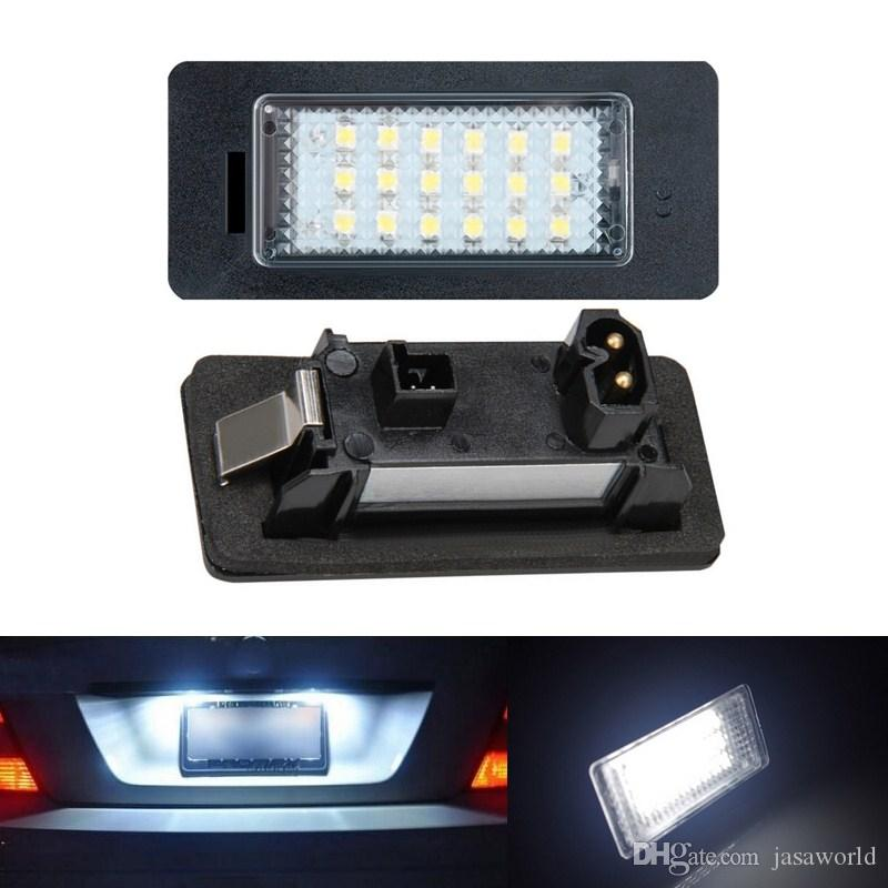 18 Led Error Free Car License Number Plate Light Lamp Bulbs Fit For Bmw E90  M3 E92 E70 E39 F30 E60 E93 E82 E88 F20 F21 Led Lighting For Cars Led Lights  ...