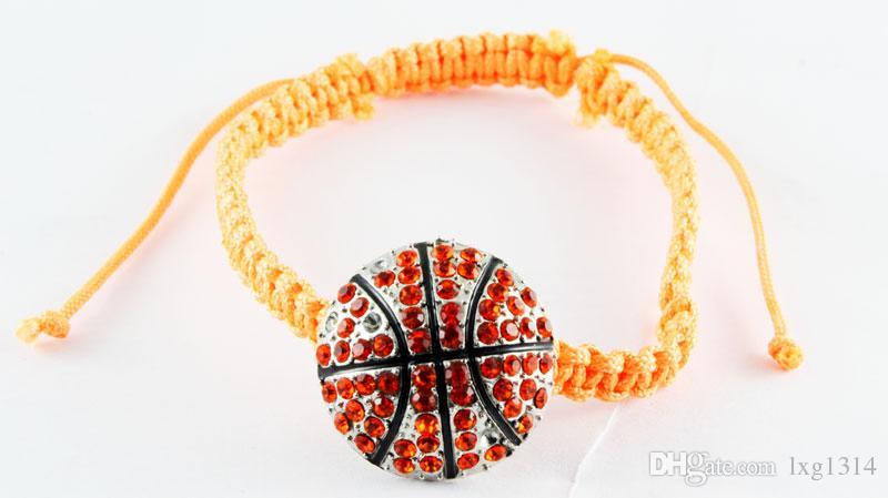Bracelets de bijoux faits main à la main à la main de bijoux de softball faits à la main pour hommes et femmes