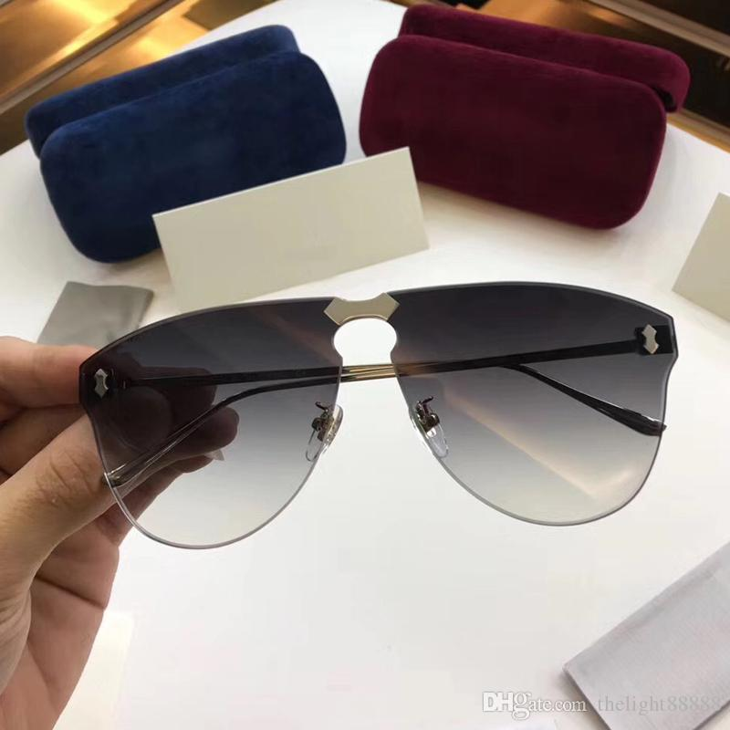 2018 New Luxury Brand Italian Designer Glasses Handmade Fashion ...