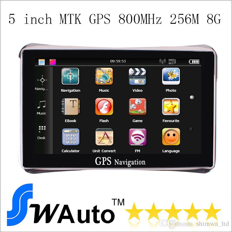 Inch Car Gps Navigator Navigation System M G Fm - Gps with europe and us maps