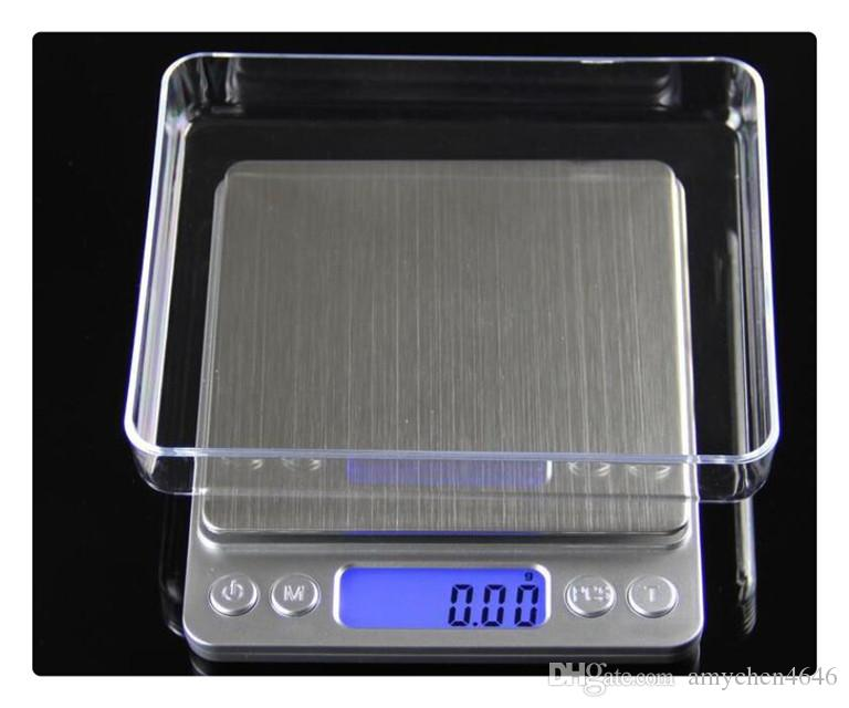 DHL High precision jewelry scale miniature gold jewelry electronic medicine grams weigh 0.01 g scale kitchen scale