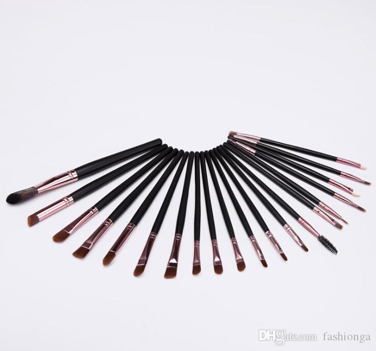 20pcs/Set Eye Shadow Foundation eyeliner Eyebrow Lip Brush Makeup Brushes set Tools cosmetics Kits beauty Make Up Brush Set