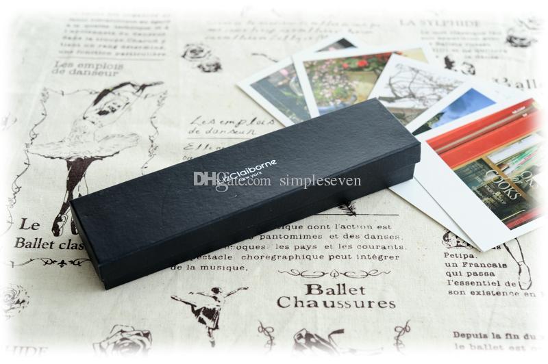 [간단한 세븐] 축제 우아한 흰색 또는 5 쌍 블랙 귀걸이 디스플레이 / 패션 귀걸이 스터드 휴대용 케이스 / 선물 보석 상자