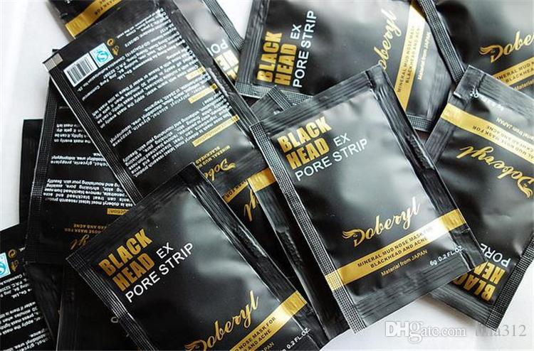 New Man woman to blackheads grease contractive pore mud mask remove blackhead derived liquid nose stick T area of nursing Nose Mask 2805