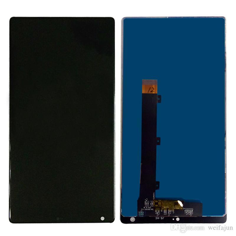 Испытательная рабочая скважина ЖК-дисплей для Xiaomi Mi Mix Передний сенсорный экран Наклейка Клей Клей Клеи для экрана с инструментами