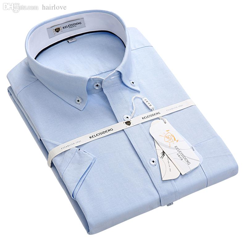 2019 Wholesale Summer 2016 Mens Short Sleeve Oxford Shirts 100