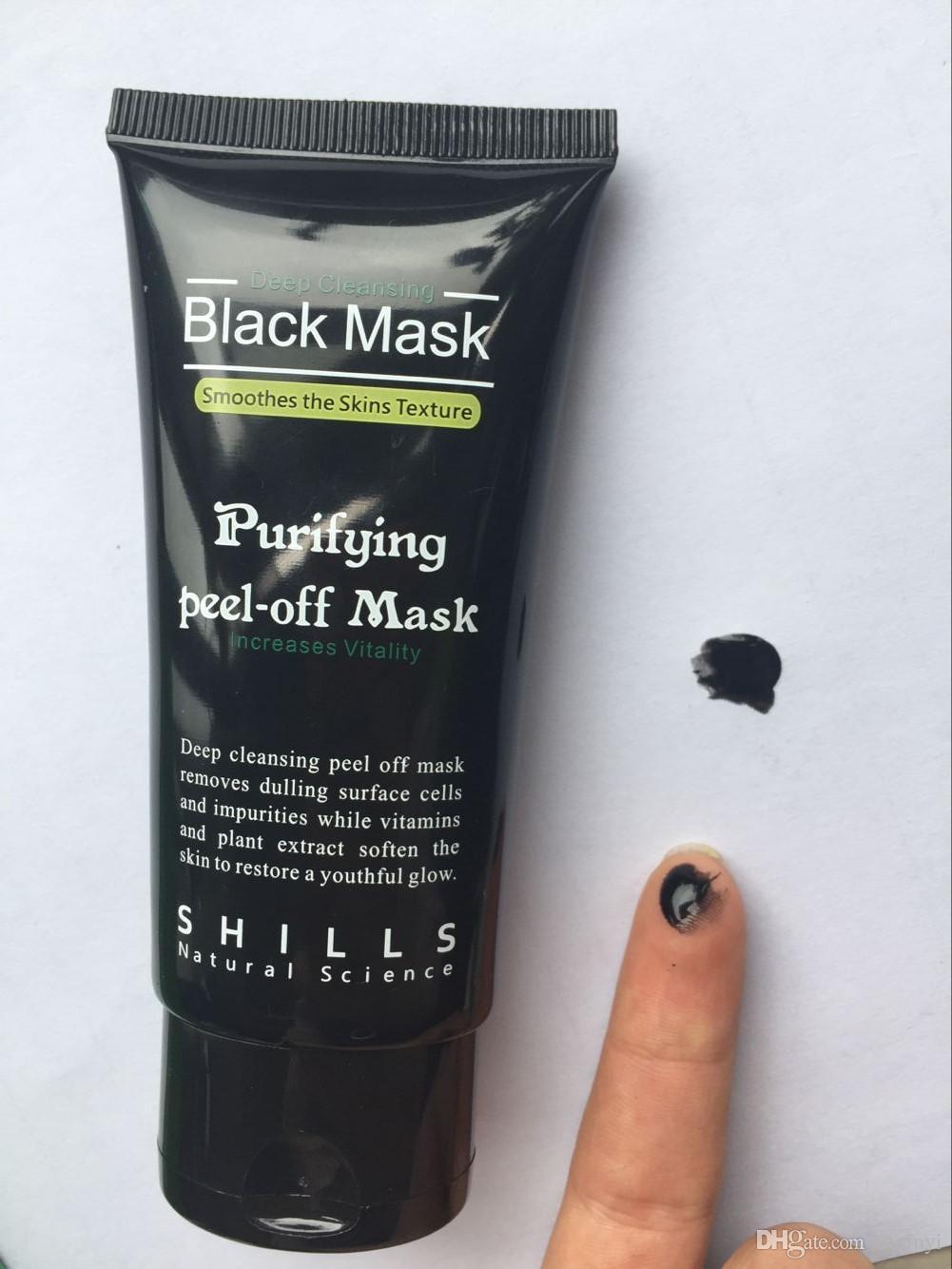 2019 El más reciente de los Shills de desprendimiento de las mascarillas de limpieza profunda Negro 50ml de la espinilla máscara facial de limpieza profunda de los Shills Negro MÁSCARA