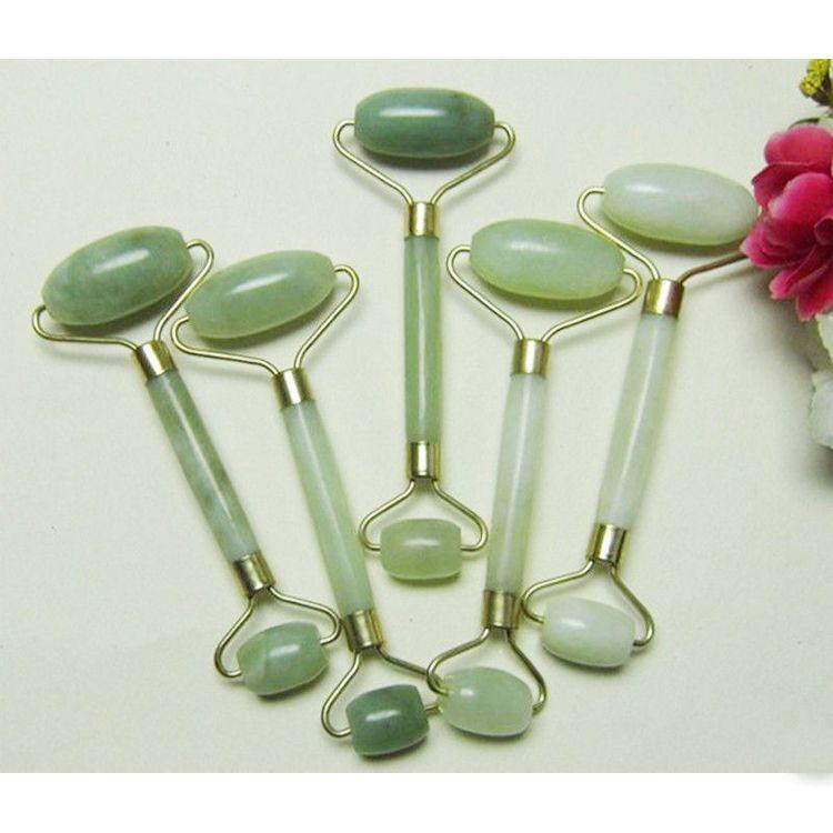 Portable Pratical Jade Gesichtsmassage Roller Anti Falten Gesundes Gesicht Körper Kopf Fuß Natur Schönheit Werkzeug