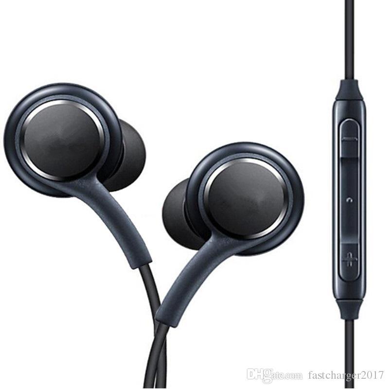 في الأذن السلكية سماعات سماعة لS8 S8 بالإضافة إلى سماعات الأذن سماعة مع مايكروفون حجم التحكم عن بعد سماعات لسامسونج S6 S7 S8 زائد