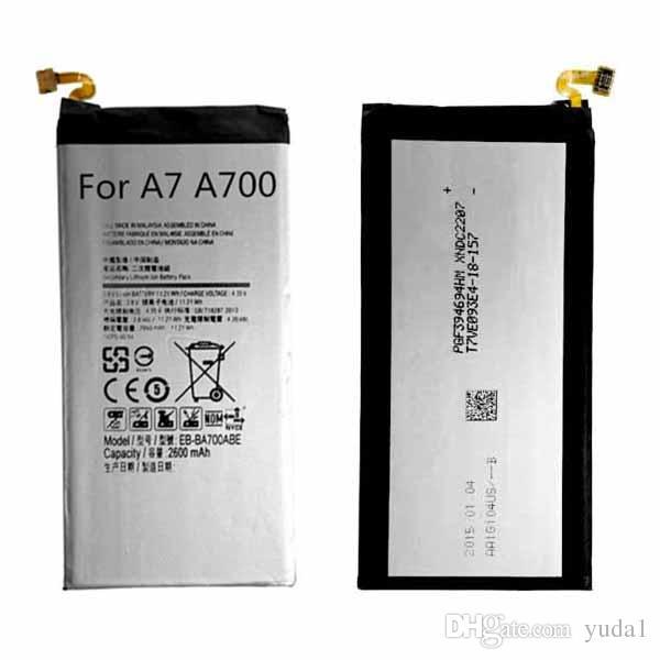 Ursprüngliche Soem-Batterie EB-BA700ABE für Sam A7 A700 A700FD A700S A700L 2600mAh geben Verschiffen-Großverkauf frei
