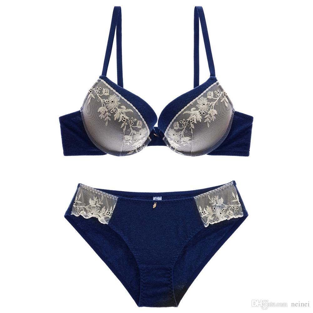 9a281e4713d6 2019 Europe Style Sexy Lingerie Sets Fashion Lace Women Bra And ...