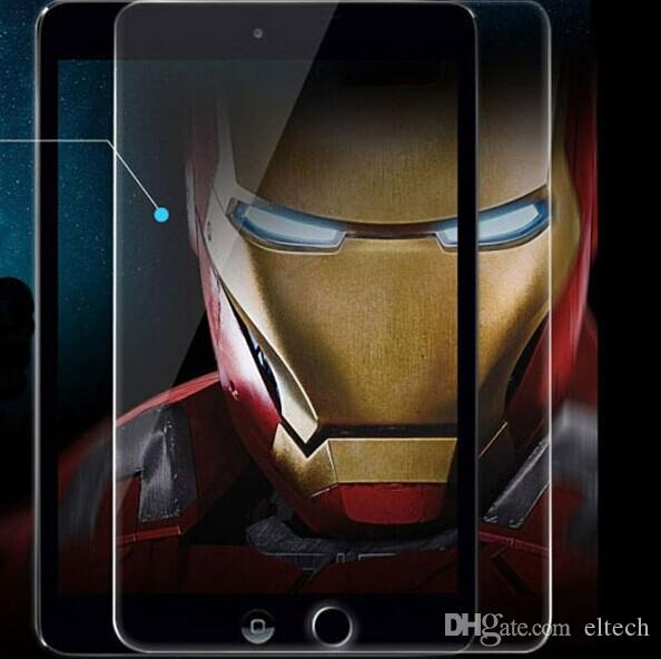 Premium Tempered Reinforced Glass Screen Protector Film Case For iPad min,Ipad 2 3 4,ipad air Samsung with giift box package