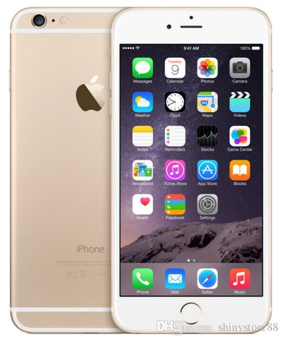 Refurbished Original Apple iPhone 6 Cell Phone 4.7 inch ROM 16GB A8 IOS 8.0 4G FDD-LTE Unlocked Support Fingerprint